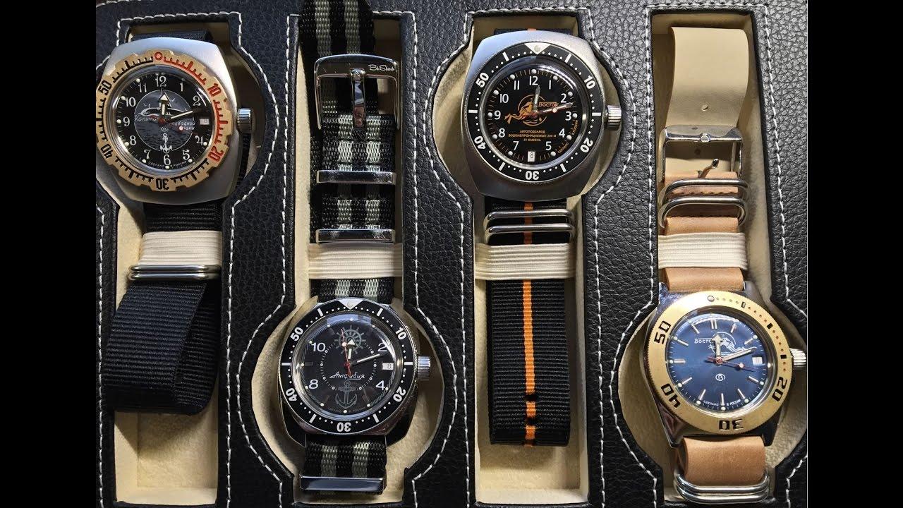 Différents ttypes de montres
